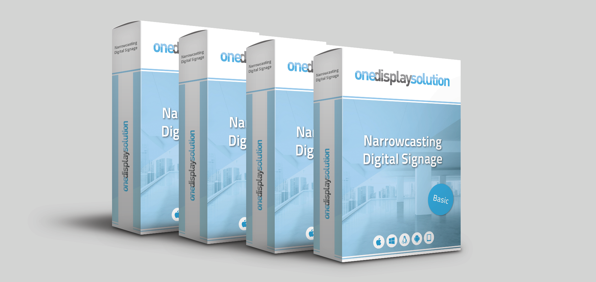 Narrowcasting-software-one-display-solution